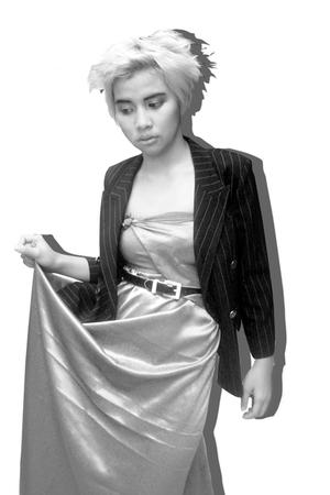 black Five-Four blazer - silver DIY dress - black zipia belt