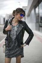 Mango jacket - Isabel Marant boots - H&M dress - Mercules bag