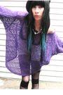 Purple-vintage-sweater
