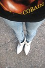 Blue-bdg-urban-outfitters-jeans-black-mexican-bodega-t-shirt-white-vintage