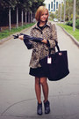 Black-retro-oasis-dress-leopard-print-h-m-coat-snakeskin-oasis-heels
