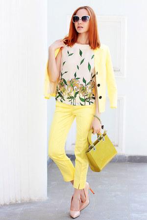 Zarina blazer - Zarina bag - Zarina sunglasses - Zarina pants - Zarina top