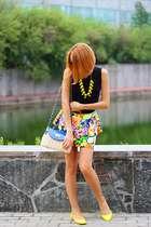 Style Lately necklace - nowIStyle dress - My Favorite tiara bag