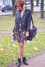 Black-asos-boots-velvet-nowistyle-dress