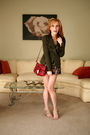Green-nanette-lepore-jacket-pink-topshop-shorts-beige-alexander-wang-shoes-