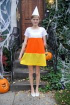 candy corn handmade dress