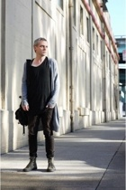 raf by raf simons sweater - chronicles of never t-shirt - Helmut Lang jeans - co