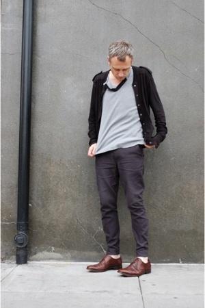 Nom D jacket - zambesi top - Endovanera pants - Ermenegildo Zegna shoes