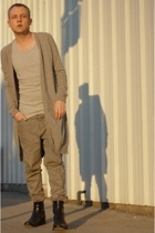 raf by raf simons sweater - Fruit of the Loom top - Ksubi jeans - too boot new y