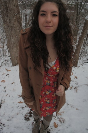 threadsence jacket - modcloth dress - modcloth socks - Mia boots