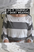 DO IT YOURSELF: T-Shirt Weaving