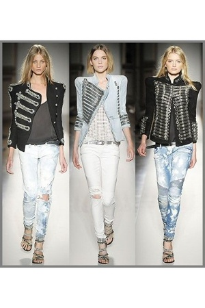 military look vol 2 by Balmain (spring rtw 2009)