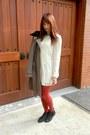 Black-joe-fresh-style-boots-white-apart-dress-heather-gray-elie-tahari-coat