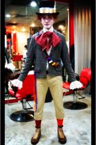 Magazine Japan blazer - neil barrett shirt - Diesel pants - Converse shoes - cal