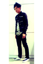 dior homme jacket - Ann Demeulmeester shoes - Colin top