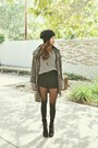 Black-marc-fisher-boots-olive-green-anchor-blue-coat-black-new-look-tights