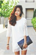 white Choies dress