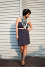 Francescas-collections-dress-thrifted-vintage-belt