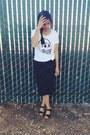 Cheap-monday-t-shirt-nordstrom-skirt-new-look-clogs