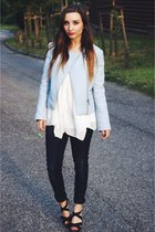 Mango jeans - Zara jacket - H&M shirt