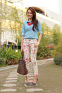 Neverfull-louis-vuitton-bag-pointed-zara-heels-floral-asian-fashion-pants