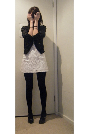 vintageDYI dress - Kmart stockings
