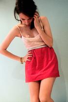 Self Made skirt - Rusty belt