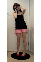 cotton on shorts - Valley Girl dress - Market glasses