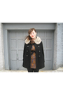 Black-forever-21-coat-white-vintage-fur-collar-accessories-brown-vintage-dre