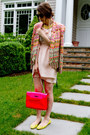 Light-pink-rebecca-minkoff-dress-hot-pink-rebecca-minkoff-bag