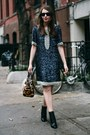 Black-coye-nokes-boots-navy-sequin-candela-dress