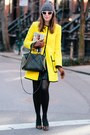 Black-rebecca-minkoff-bag-yellow-nanette-lepore-coat