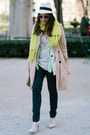 Navy-vigoss-usa-jeans-off-white-jcrew-hat-aquamarine-zara-sweater