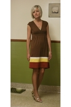 banana republic dress - liz claiborne shoes