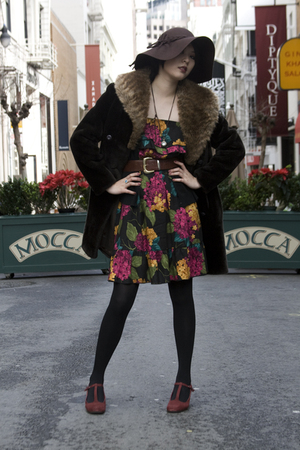 coat - A for Audrey dress