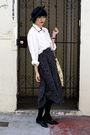 Shirt-skirt-zara-shorts-h-m-pants