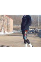 goodmark cardigan - goodmark leggings - wall mart socks