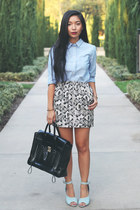 madewell shirt - 31 Phillip Lim bag - Urban Outfitters skirt