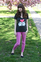 bunnie love tee Gnome Industries t-shirt - jeans Urban Outfitters jeans