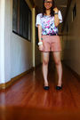 White-topman-top-orange-shapes-shorts-black-zoe-zac-shoes