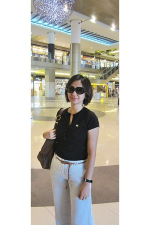 calvin klein sunglasses - Burberry blouse