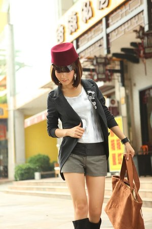 slim long aneshe jacket