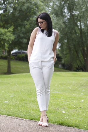 Zara top - Zara pants - Zara sandals