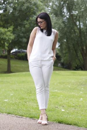 Zara top - Zara pants - Zara sandals