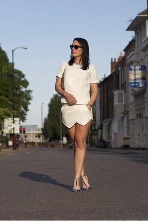 Zara bag - Zara shorts - Zara heels - Zara top