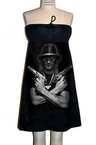 Kid Rock Guns The Right To Bear Arms Strapless Dress