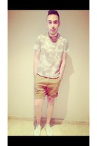 tan Topman t-shirt