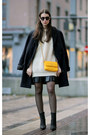 Ivory-vintage-sweater-black-givenchy-skirt-black-acne-heels