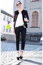 Diesel-jeans-nanette-lepore-blazer-bianco-heels