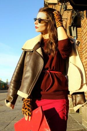 hot pink By Malene Birger skirt - tawny Alexander Wang boots